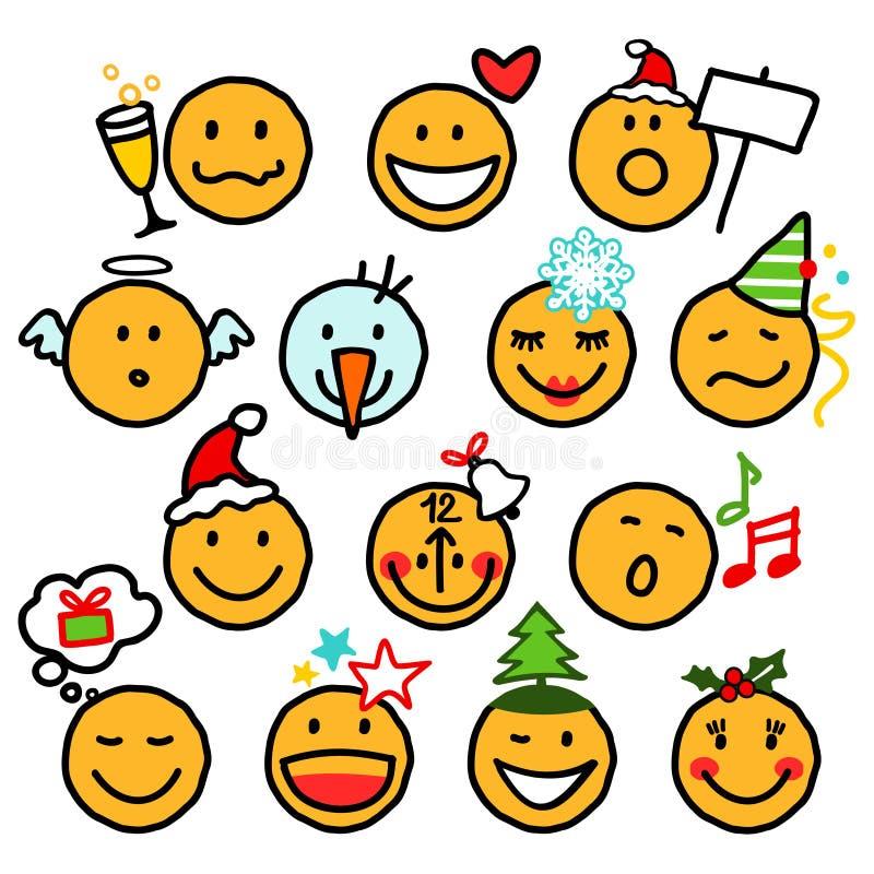 Christmas Smileys Stock Image - Image: 6743841