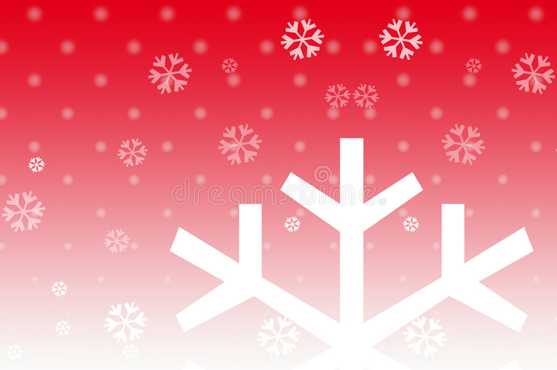 Christmas snow. Graphic design of snowfall