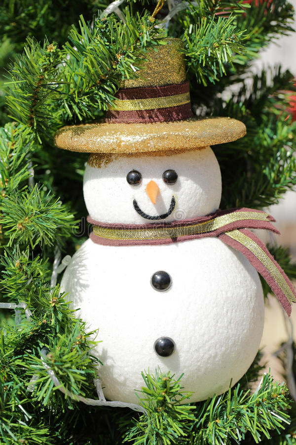 Download Christmas Snow Baby On Tree Royalty Free Stock Images - Image: 36232059