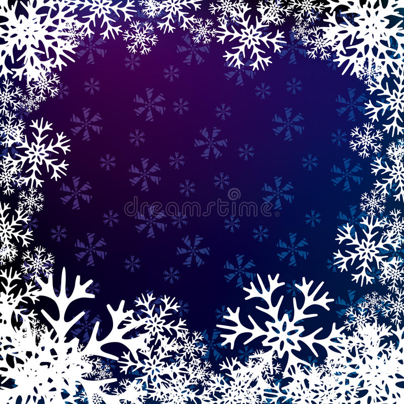 Christmas snow background. Vector illustration, Christmas snow background stock illustration