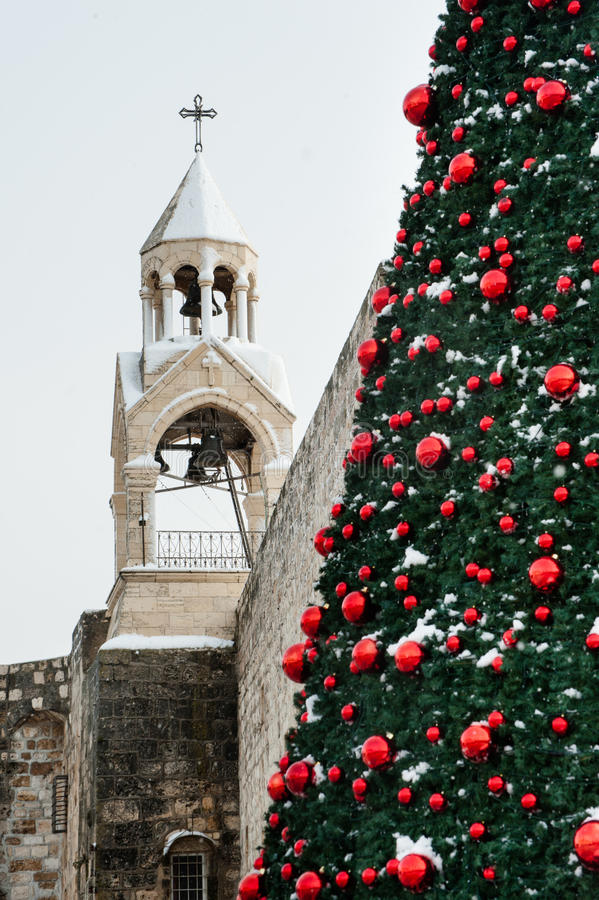 Download Christmas Snow In Bethlehem Stock Image - Image: 28581877
