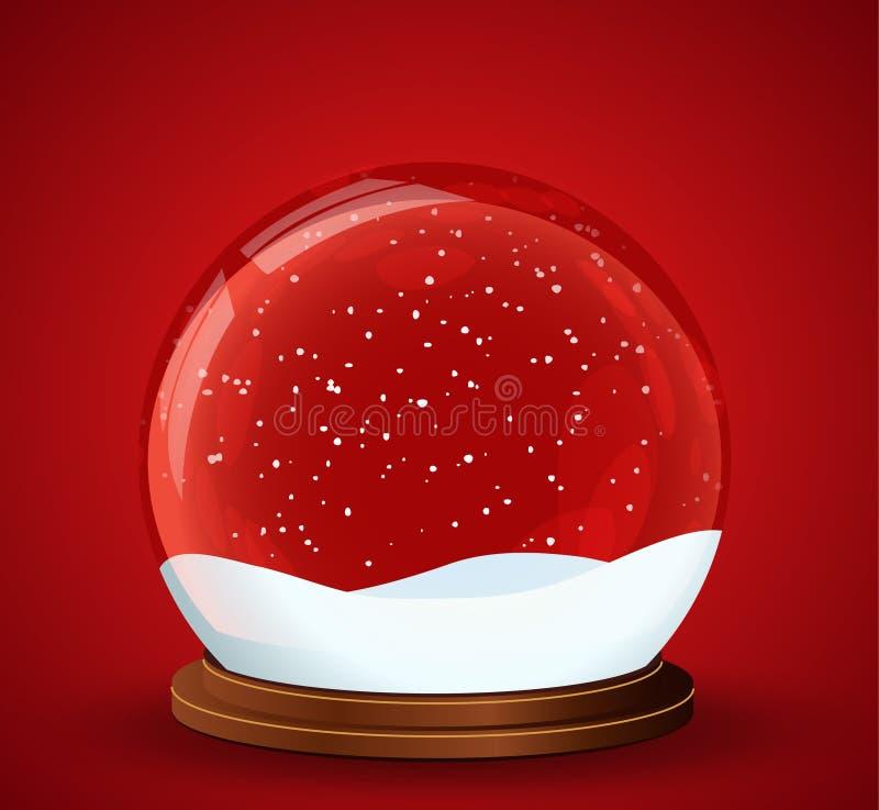 Free Christmas Snow Globe Royalty Free Stock Photography - 16763947