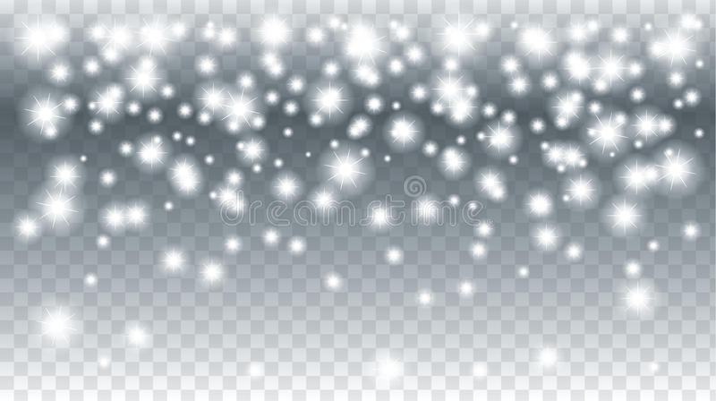 Download Christmas snowfall stock vector. Illustration of 2019 - 80666353