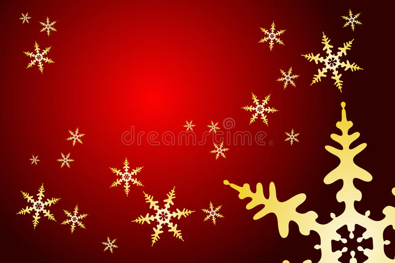 Christmas Snowflake Decoration stock illustration