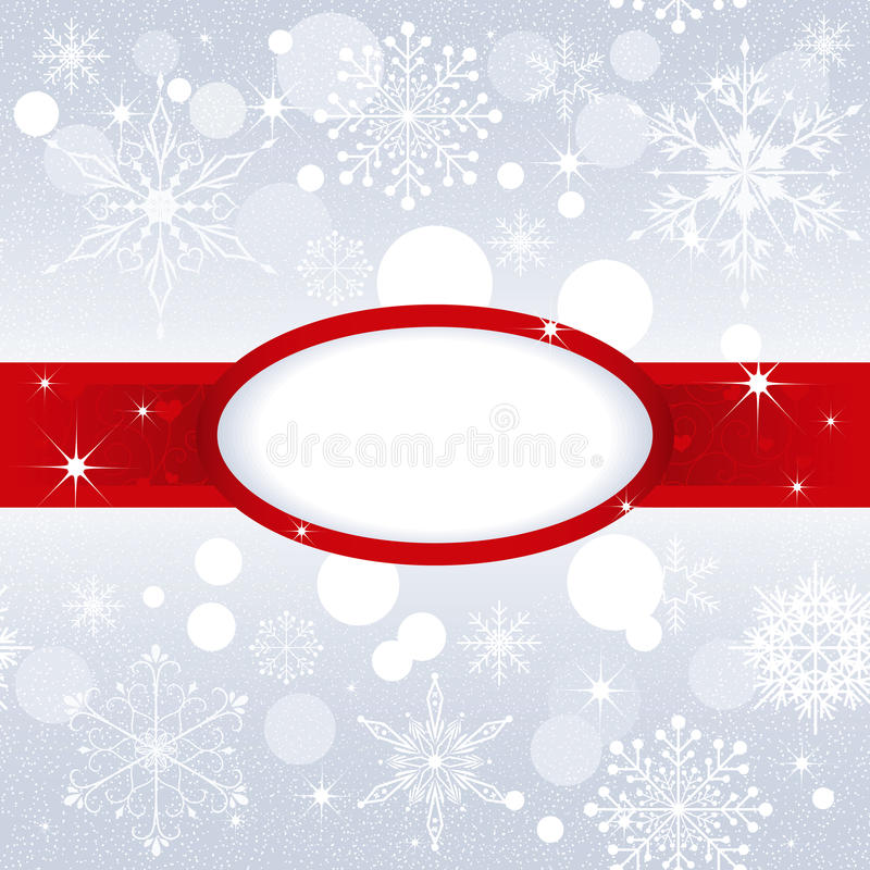 Download Christmas Snowflake On Silver Color Background Stock Vector - Image: 22450785