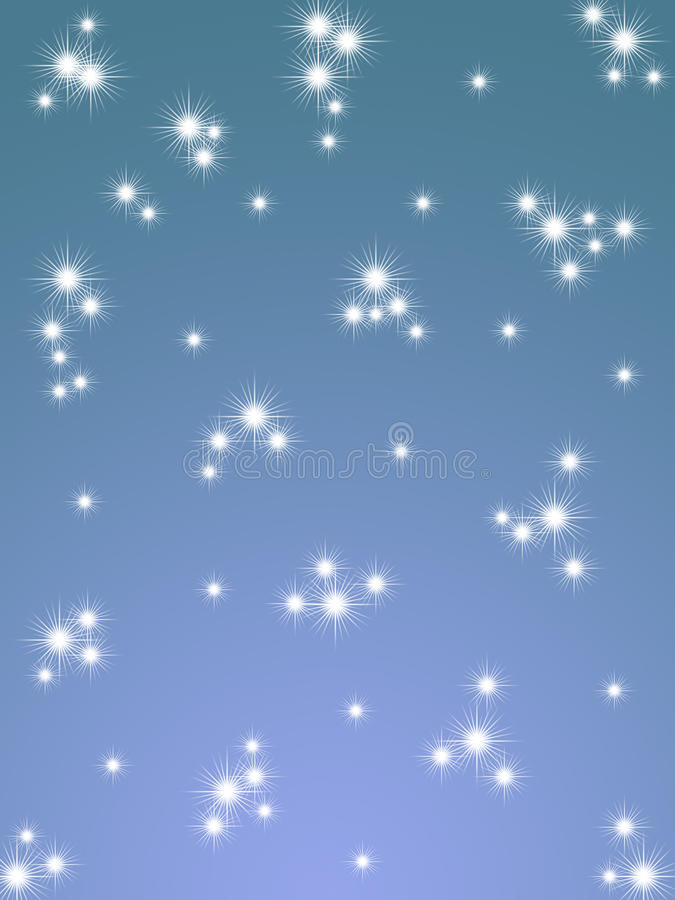 Download CHRISTMAS SNOWFLAKES stock illustration. Image of nature - 12180543