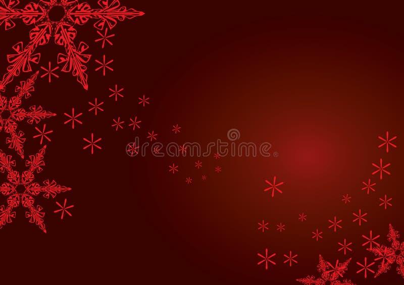 Christmas Snowflakes stock illustration