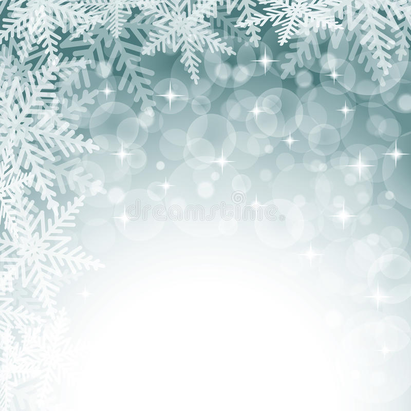 Christmas snowflakes on colorful background. Vector illustration vector illustration