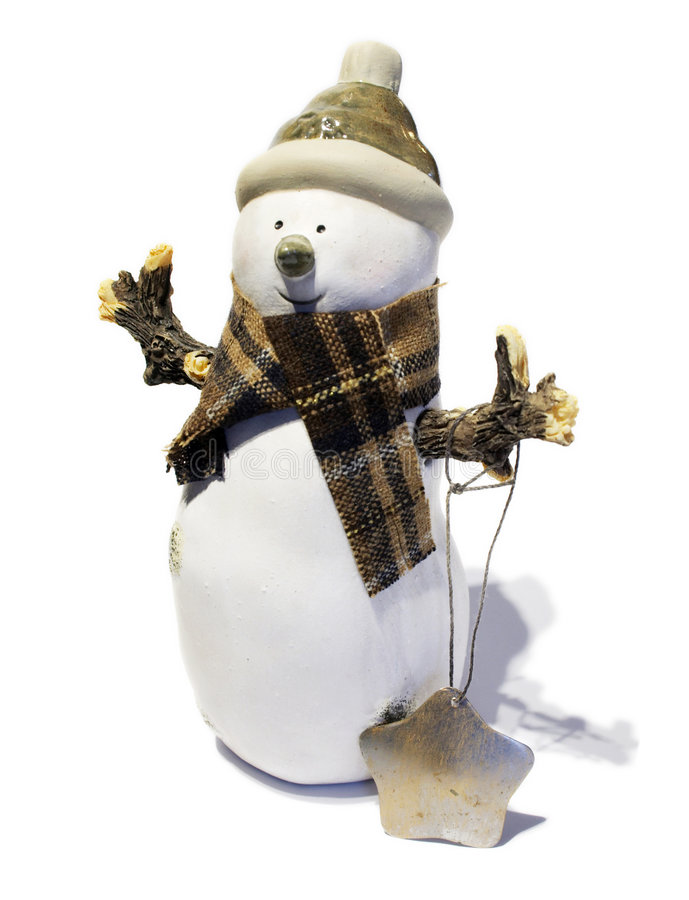 Free Christmas Snowman Stock Photo - 102560