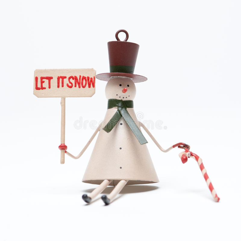 Download Christmas Snowman On White Stock Photos - Image: 17120933