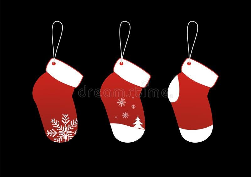 Christmas Socks Stickers