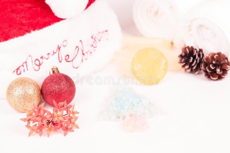 Christmas spa φυγή στοκ εικόνες με δικαίωμα ελεύθερης χρήσης