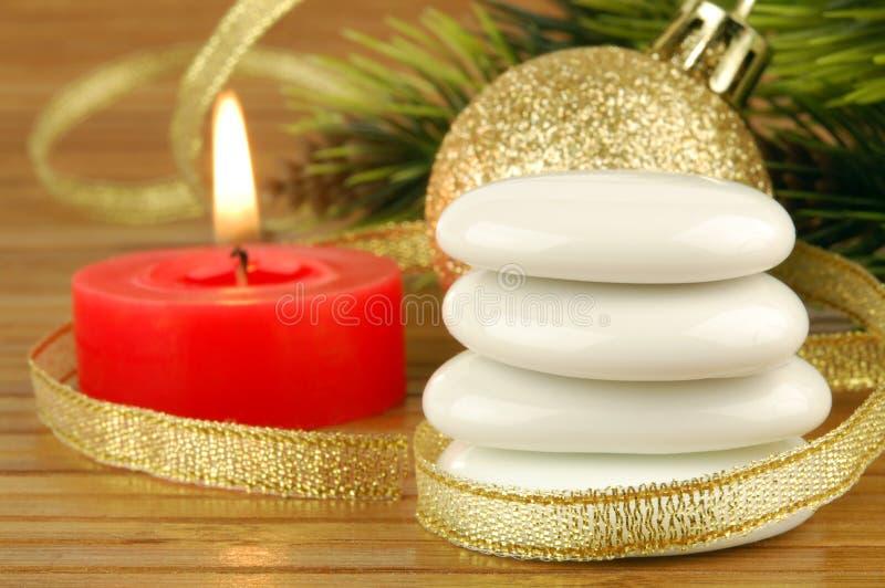 Christmas spa στοκ εικόνες