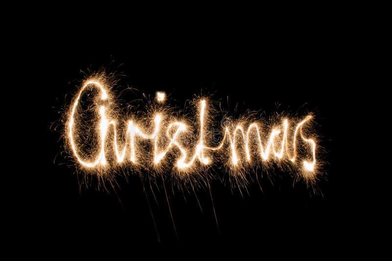 christmas sparkler απεικόνιση αποθεμάτων