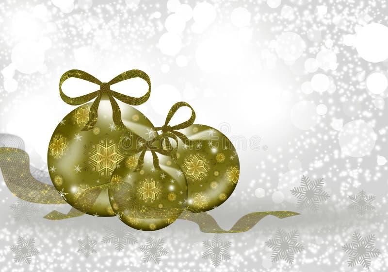 Download Christmas sphere stock illustration. Image of glitter - 40413689