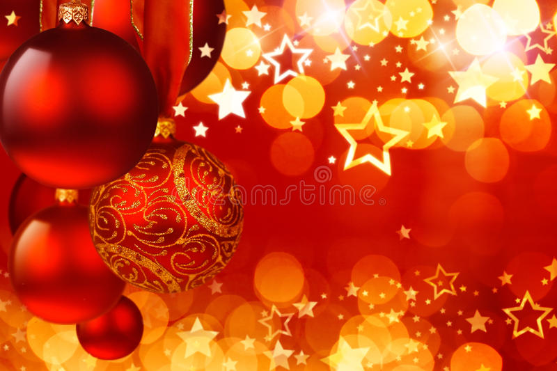 Christmas spheres. And fires of garlands