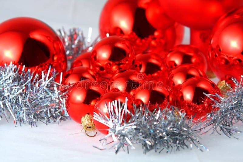 Christmas spheres royalty free stock photos