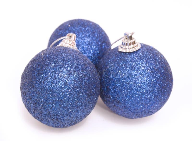 Christmas spheres stock photo