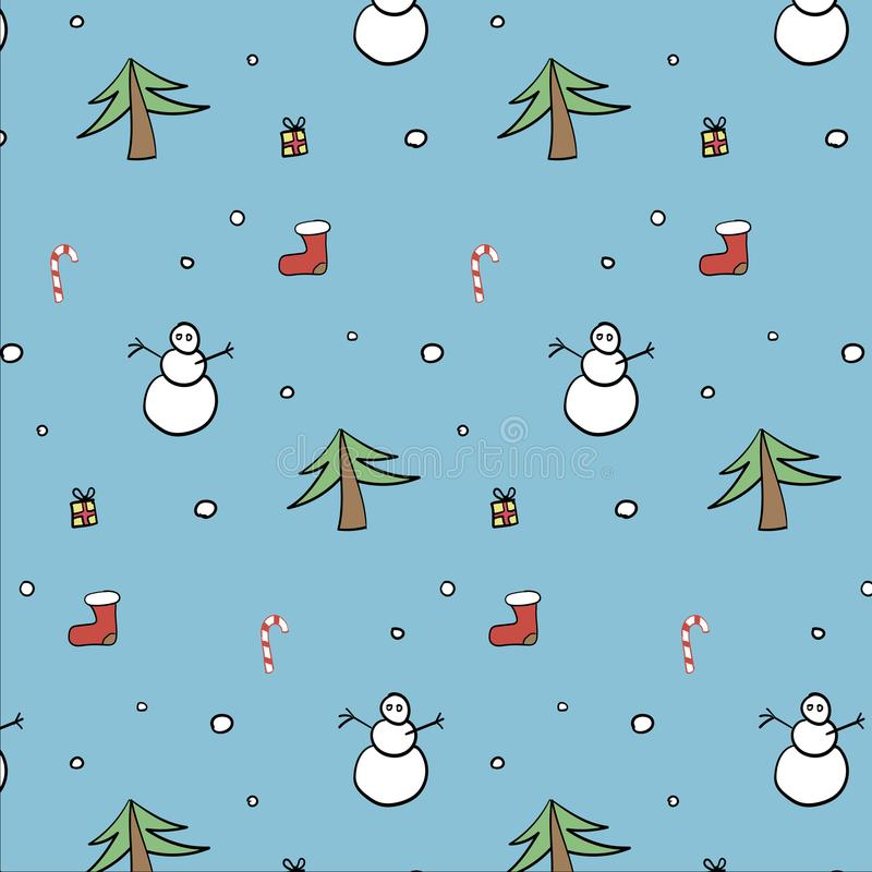 Christmas spirit pattern stock photos