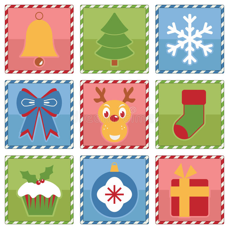Free Christmas Squares Stock Images - 46471084