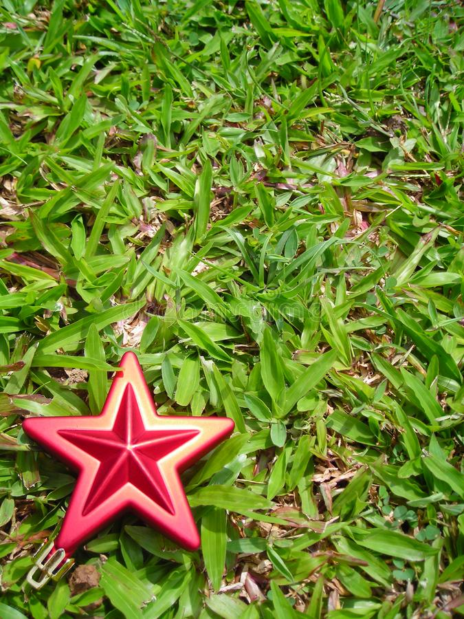 Christmas Star Decoration With Copyspace