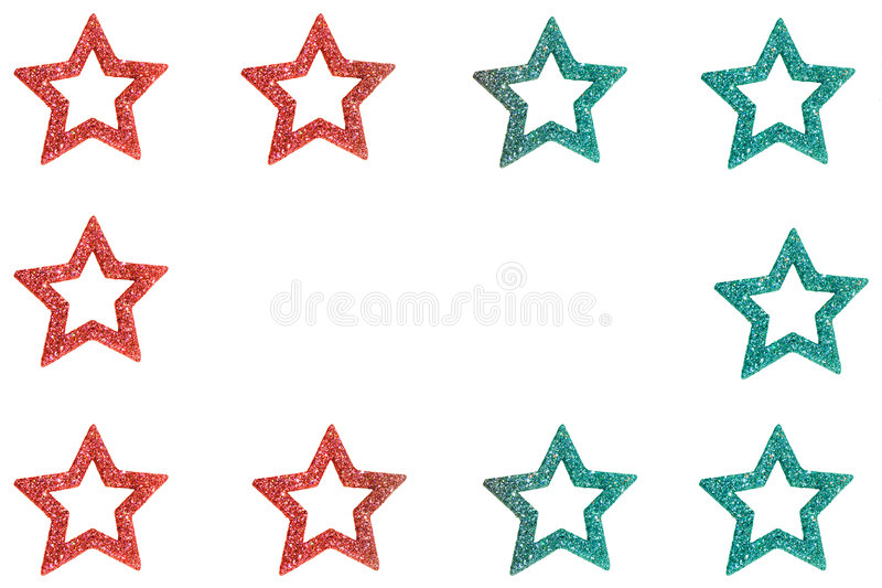 Christmas Stars royalty free stock photography