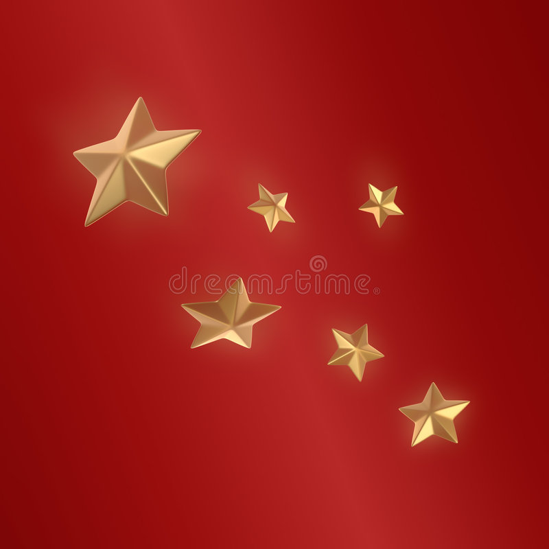 Christmas stars vector illustration