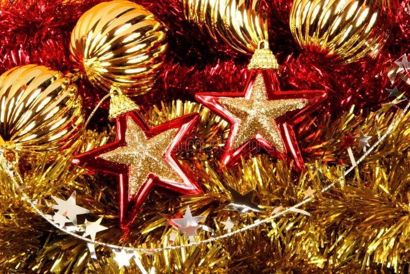 Christmas stars royalty free stock photography