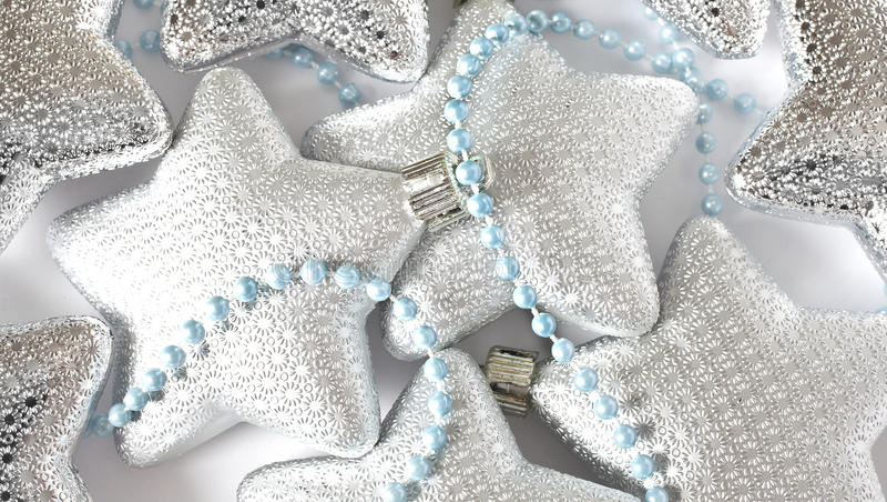 Download Christmas stars ornaments stock photo. Image of shiny - 27876344