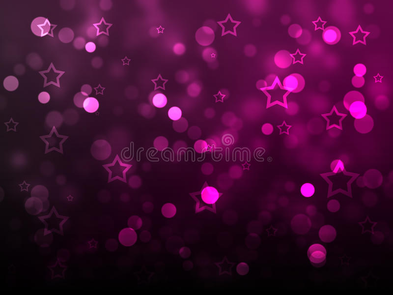 Download Christmas starts and Glow stock illustration. Illustration of deep - 17434268