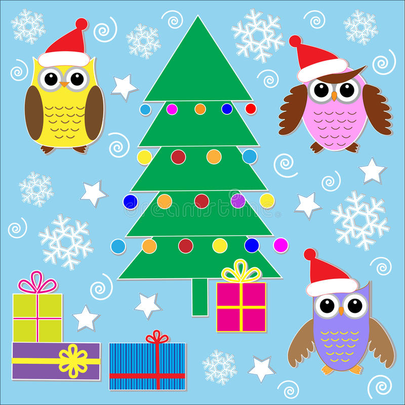 Download Christmas Stickers Royalty Free Stock Photo - Image: 22033125