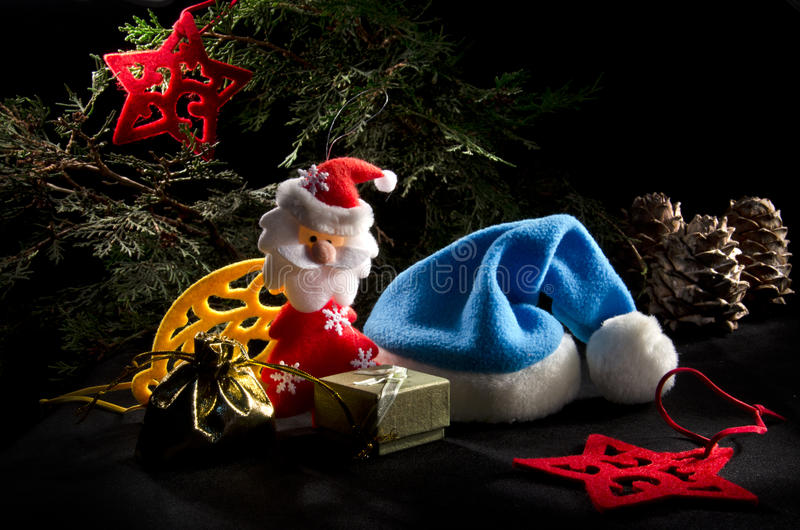 Download Christmas still life stock image. Image of bags, star - 27438559