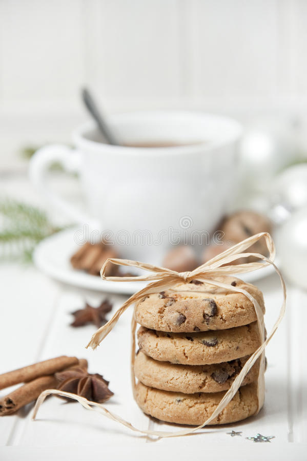 Download Christmas Still Life With Biscuits Stock Image - Image of food, holiday: 26848349