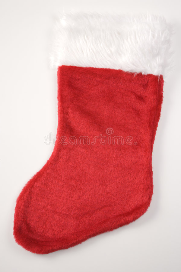 Christmas stocking. royalty free stock image