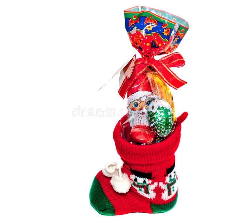 Download Christmas stocking stock photo. Image of spheres, celebration - 27997516