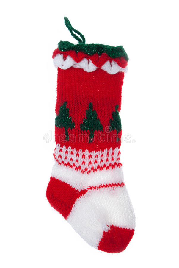 Download Christmas stocking stock image. Image of merry, isolated - 28219775