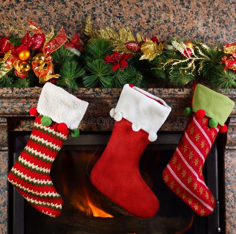 Free Christmas Stocking Royalty Free Stock Photos - 35474038