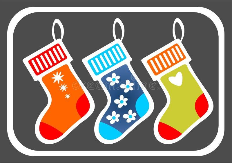 Christmas Stockings Royalty Free Stock Photography