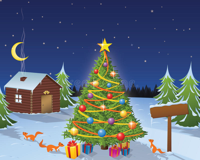 Christmas Story royalty free stock photography