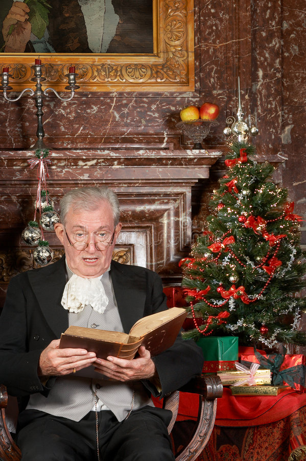 Christmas Story In A Castle Royalty Free Stock Image