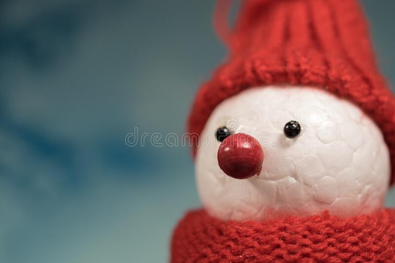 Christmas Styrofoam Snowman Free Public Domain Cc0 Image