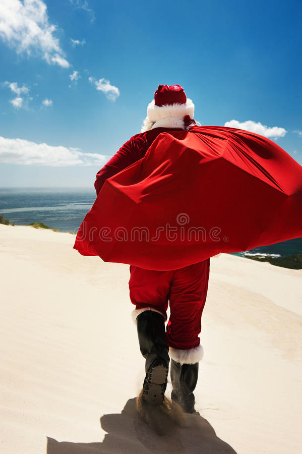 Christmas in Summer time royalty free stock image