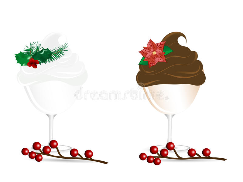 Download Christmas sundaes stock vector. Illustration of concept - 31913212