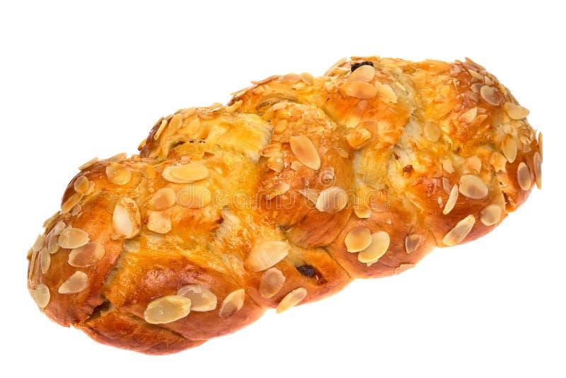 Christmas sweet bread czech tradicional. Isolated stock photo