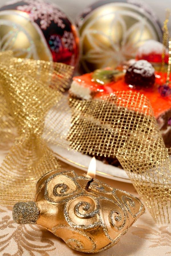 Christmas sweet food stock photography