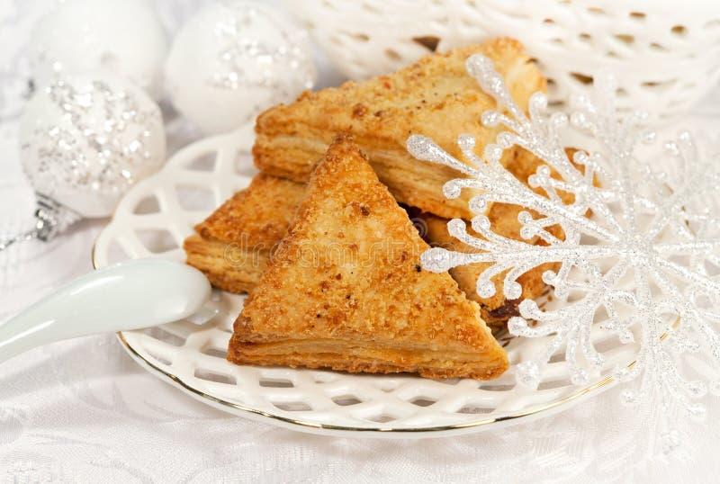 Christmas sweet food royalty free stock photo