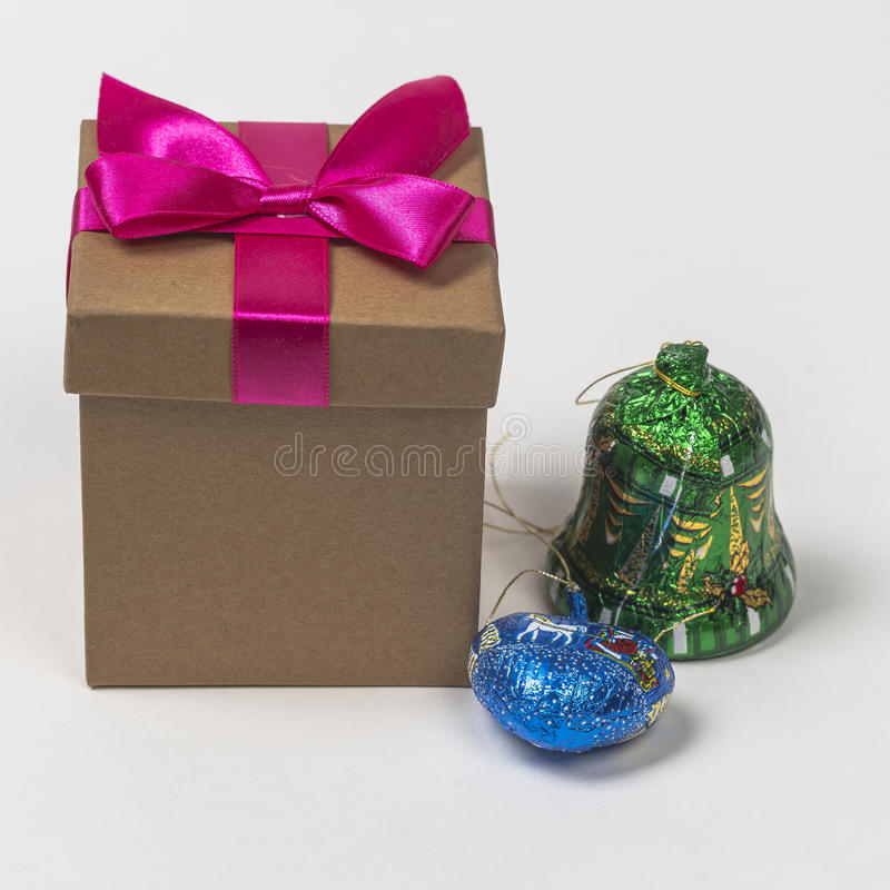 Christmas sweet gifts royalty free stock image