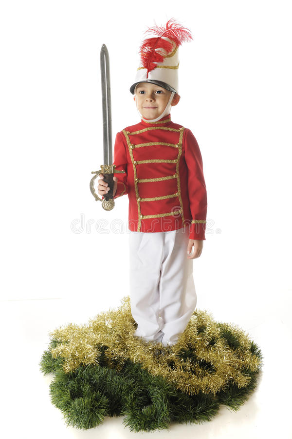 Download Christmas Sword stock photo. Image of child, green, adorable - 27285994