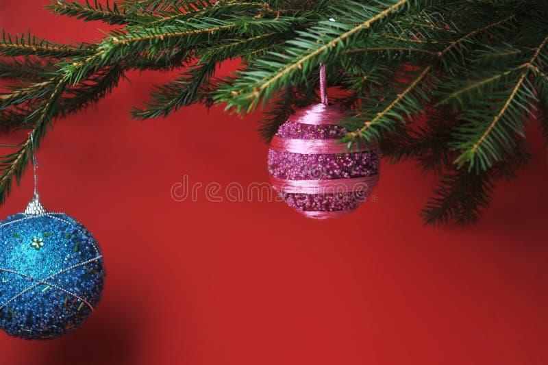 Christmas symbols stock photography