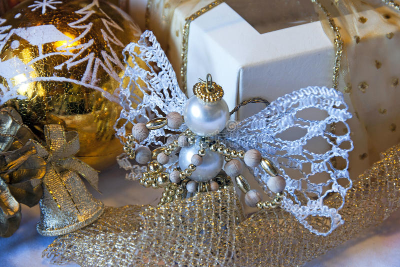 Download Christmas table decoration stock image. Image of evening - 15883075